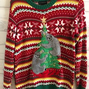 Sweaters - XMAS IN JULY Ugly Sloth Sweater